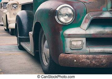 Headlight vintage car