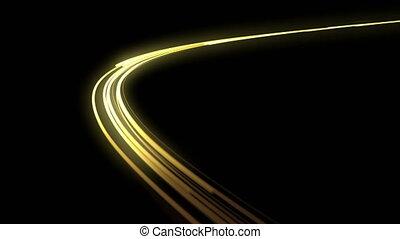 headlights., loop., jeûne