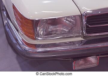 headlights - type headlights of the vehicle, note shallow...