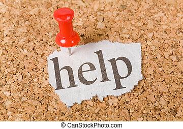 Headline help, concept of help