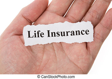Headline of Life Insurance for background