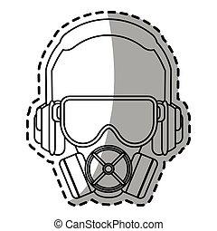 Headphone glasses and mask design