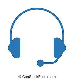 headphone glyph color icon