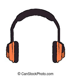 Headphone of industrial security design