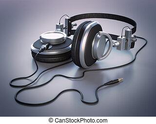 Headphones 3d - High-res 3D render