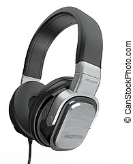 headphones., 3d