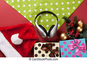 headphones and christmas gifts