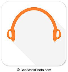 headphones flat icon