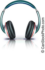 headphones icon - Vector illustration of cool headphones...