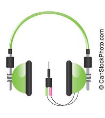 Headphones illustration