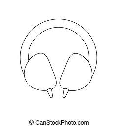 Headphones illustration path