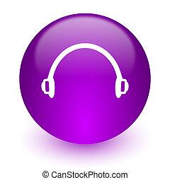 headphones internet icon