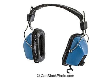 Headphones, isolated on white background