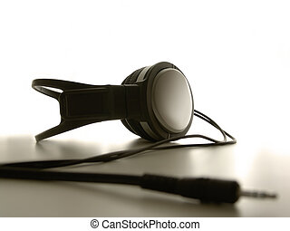 Headphones - Sepia Headphones