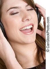 Headphons Girl
