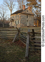 General Washington's headquarters at Valley Forge National Historical Park