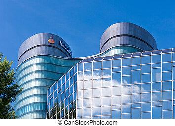 headquarters of dutch bank - rabobank headquarters building ...