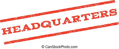 Headquarters Watermark Stamp - Headquarters watermark stamp....