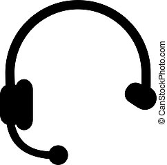 Headset icon for callcenter