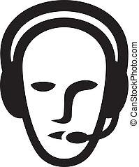 headset, símbolo