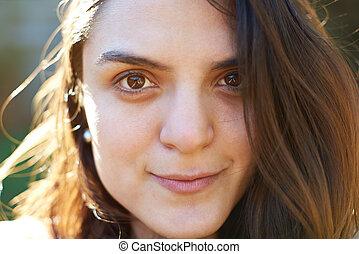Headshot of hispanic woman