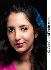 headshot of young latin woman