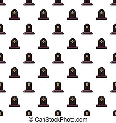 Headstone pattern seamless