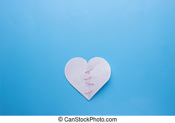 Healing broken heart