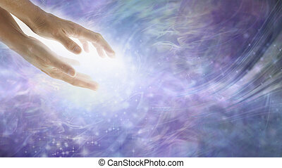Healing energy flows where your attention goes