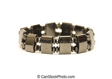 Healing Magnetic Bracelet - Magnetic bracelet isolated...