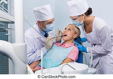 Healing of teeth