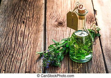 Healing tincture as an alternative cure