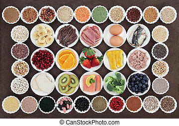 Health and Body Building Diet food