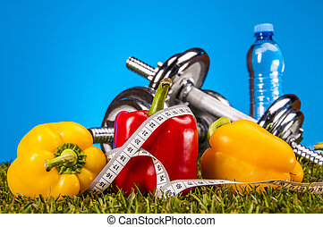 Health and fitness theme - Fitness theme