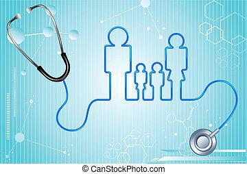 health biztosítás, család