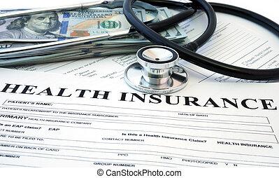 health biztosítás, forma