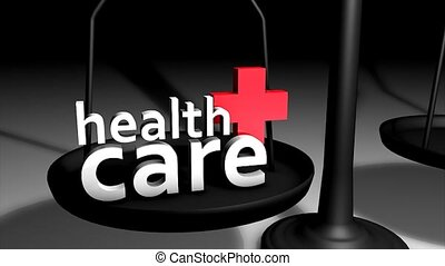 Health care concept animation.