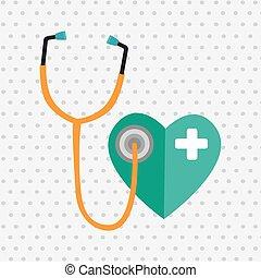 health care design - health care design, vector illustration...