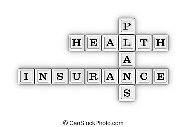 Health care insurance plans crossword puzzle.