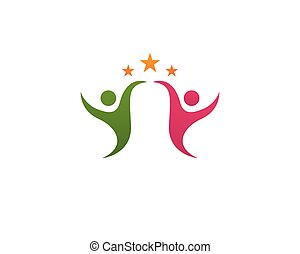 Health care logo vector