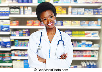Health care medical doctor woman.