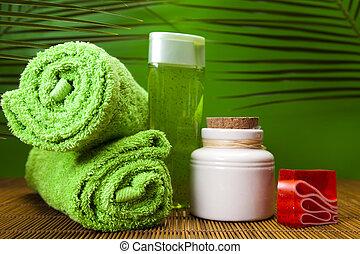 Health composition, spa