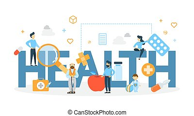 Health concept illustration.