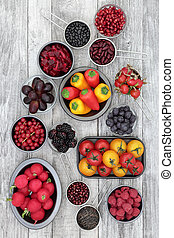 Health Eating with Anthocyanin Food - Healthy super food...