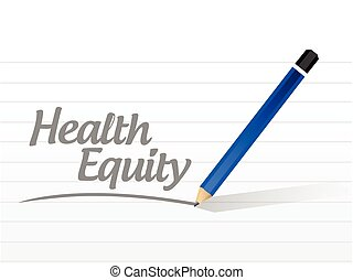 health equity message illustration