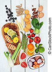 Health Food for Dieting - Health food for dieting concept...