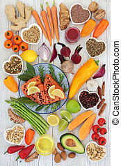 Health Food for Heart Fitness