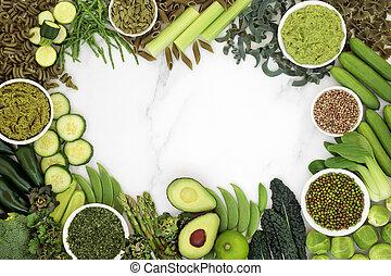 Health Food for Vegans Background - Health food for a vegan ...