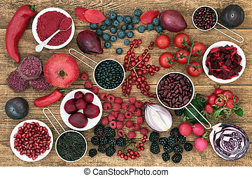 Health Food High in Anthocyanins