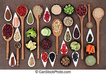 Health Food Sampler - Large diet and weight loss superfood ...